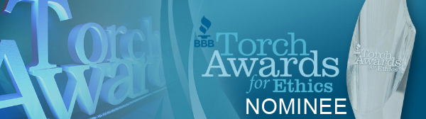 bbb torch award for ethics nominee